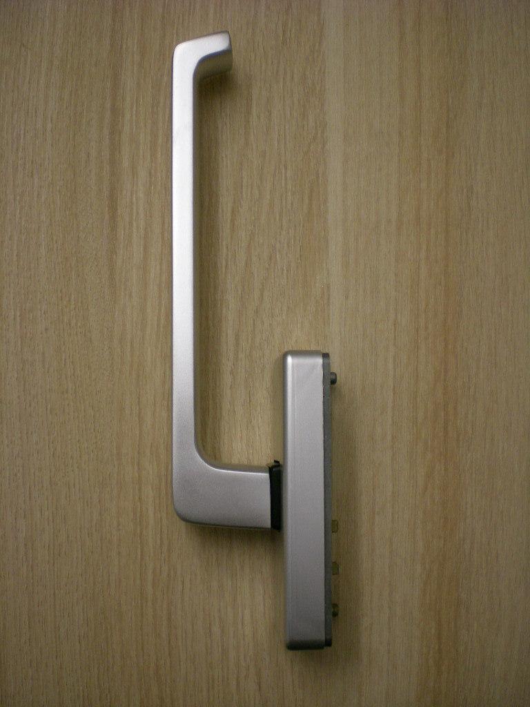 gu handhebel griff 966 rechts silber ev1 febes fensterbeschlagservice. Black Bedroom Furniture Sets. Home Design Ideas